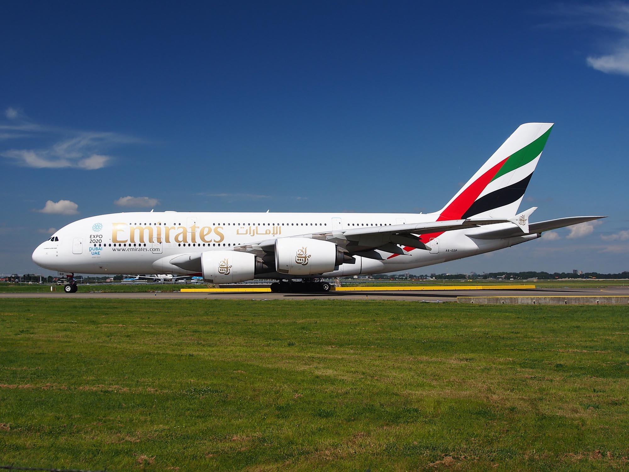 Emirates verkozen tot 's werelds beste vliegmaatschappij