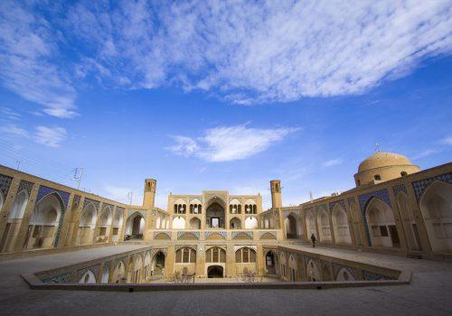 Iran Kashan Agha Bozorg Mosque