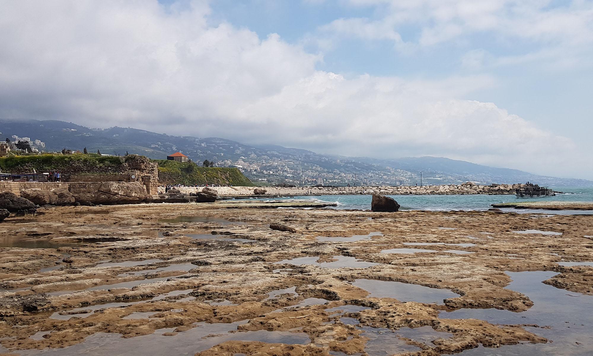 Libanon Byblos Zee