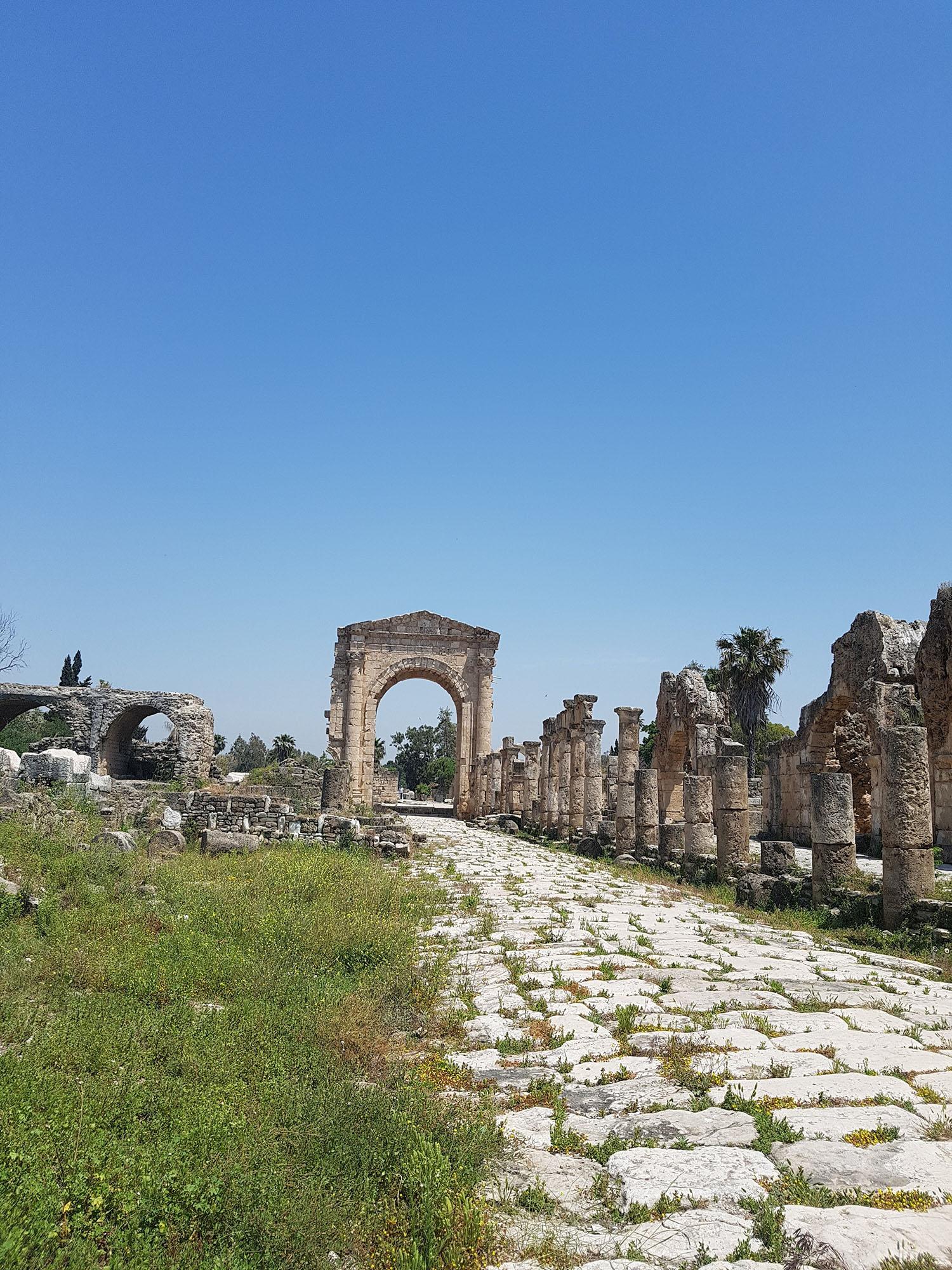 Libanon Tyrus ruïnes