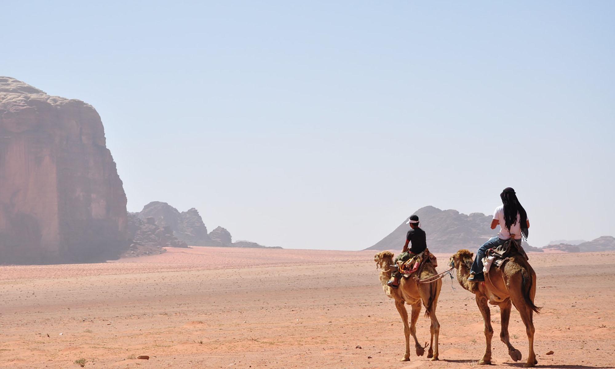Jordanië Wadi Rum Kameel