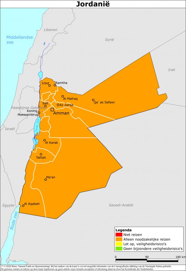 Reisadvies Jordanië