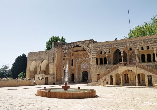 Libanon Beit Ed Dine Paleis