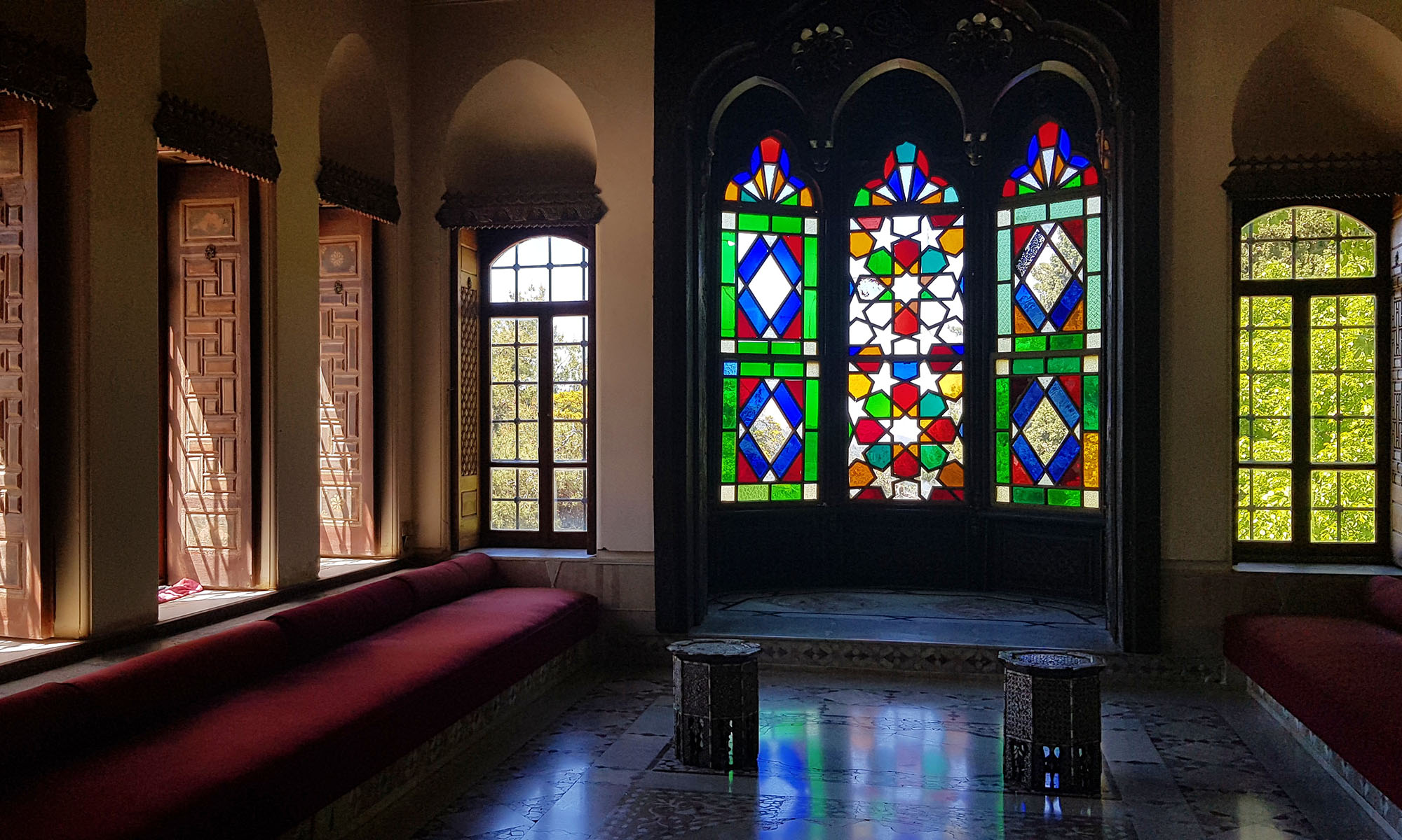 Libanon Beiteddine Paleis Binnen