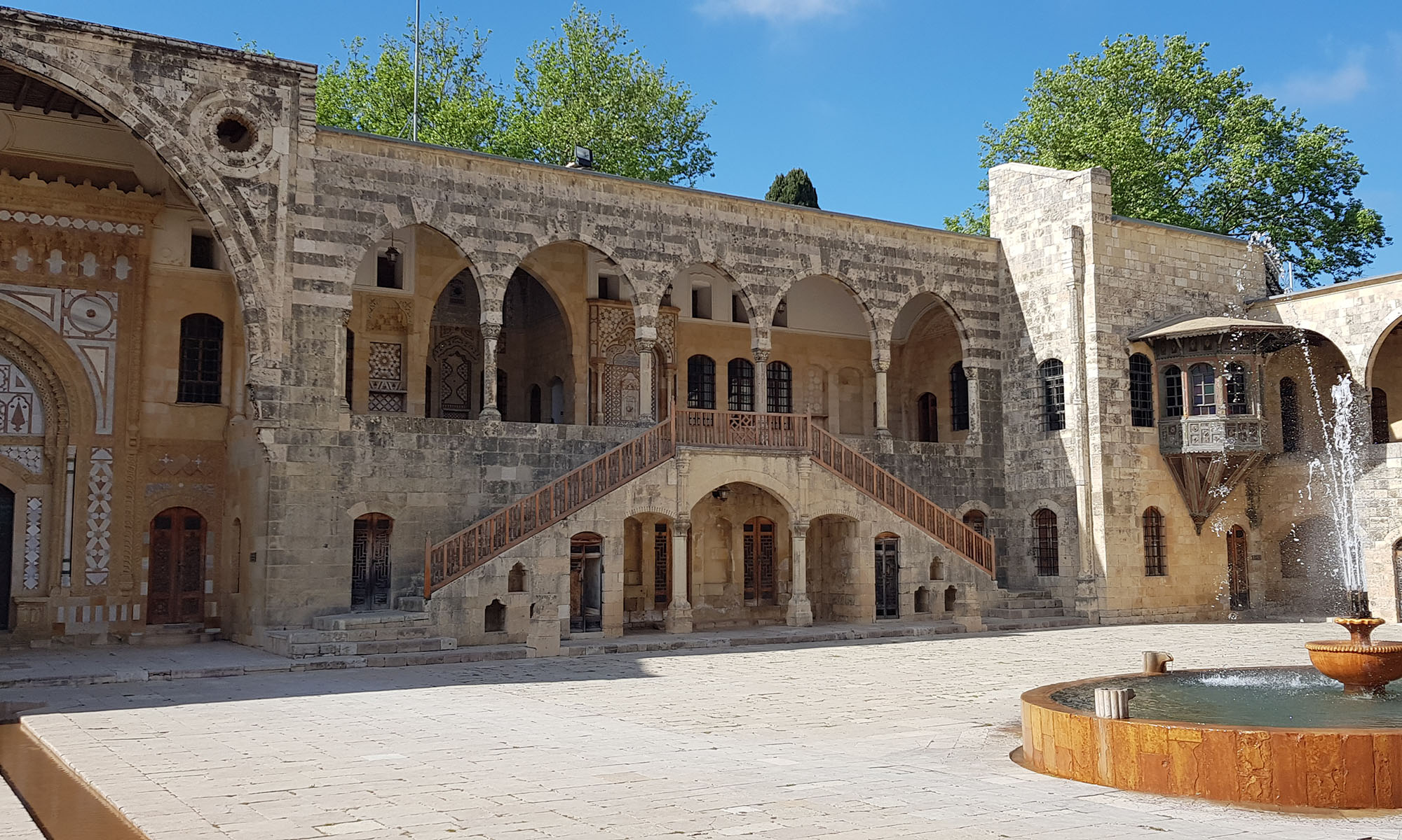 Libanon Beiteddine Paleis