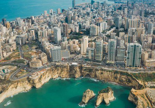 Libanon Skyline Beiroet