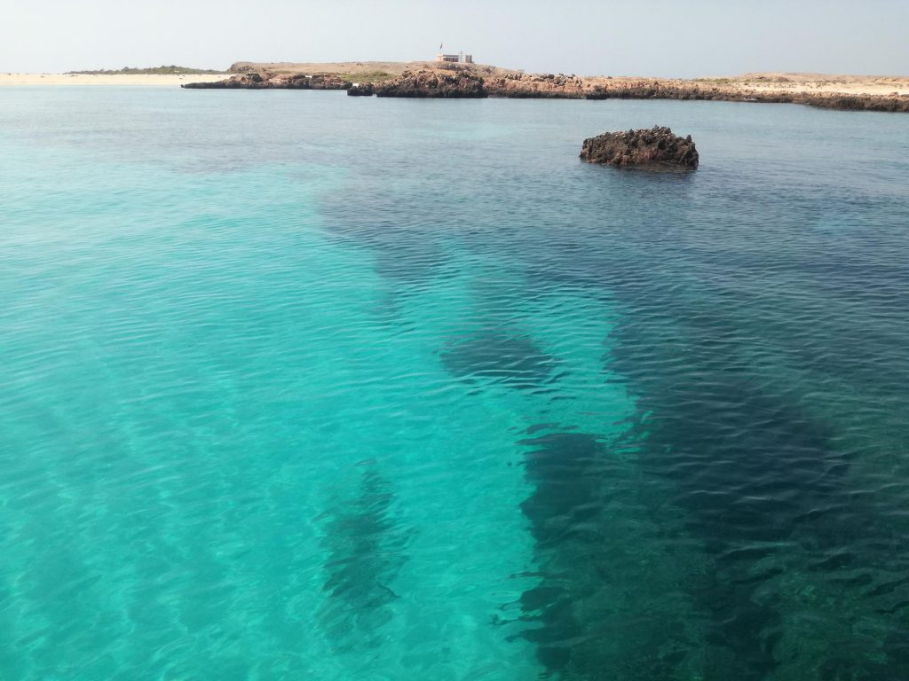 Daymaniyat Islands in Oman
