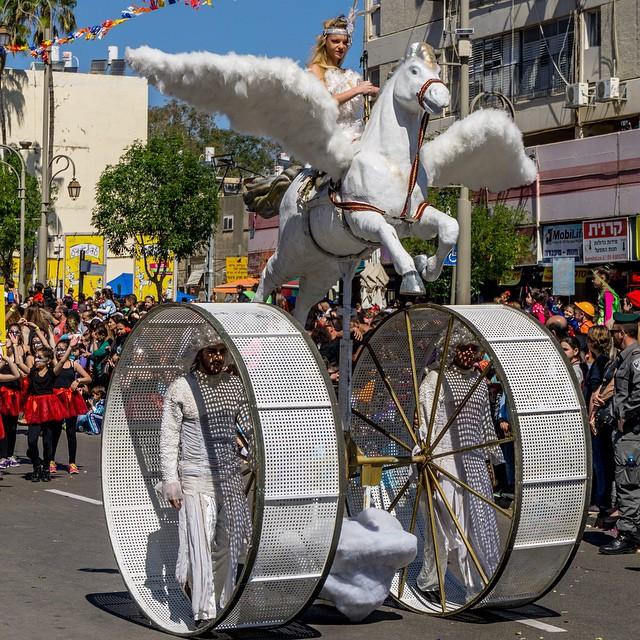 Poerim, carnaval in Israël