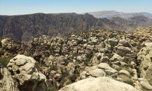 Jordanië Dana Natuurpark Panorama