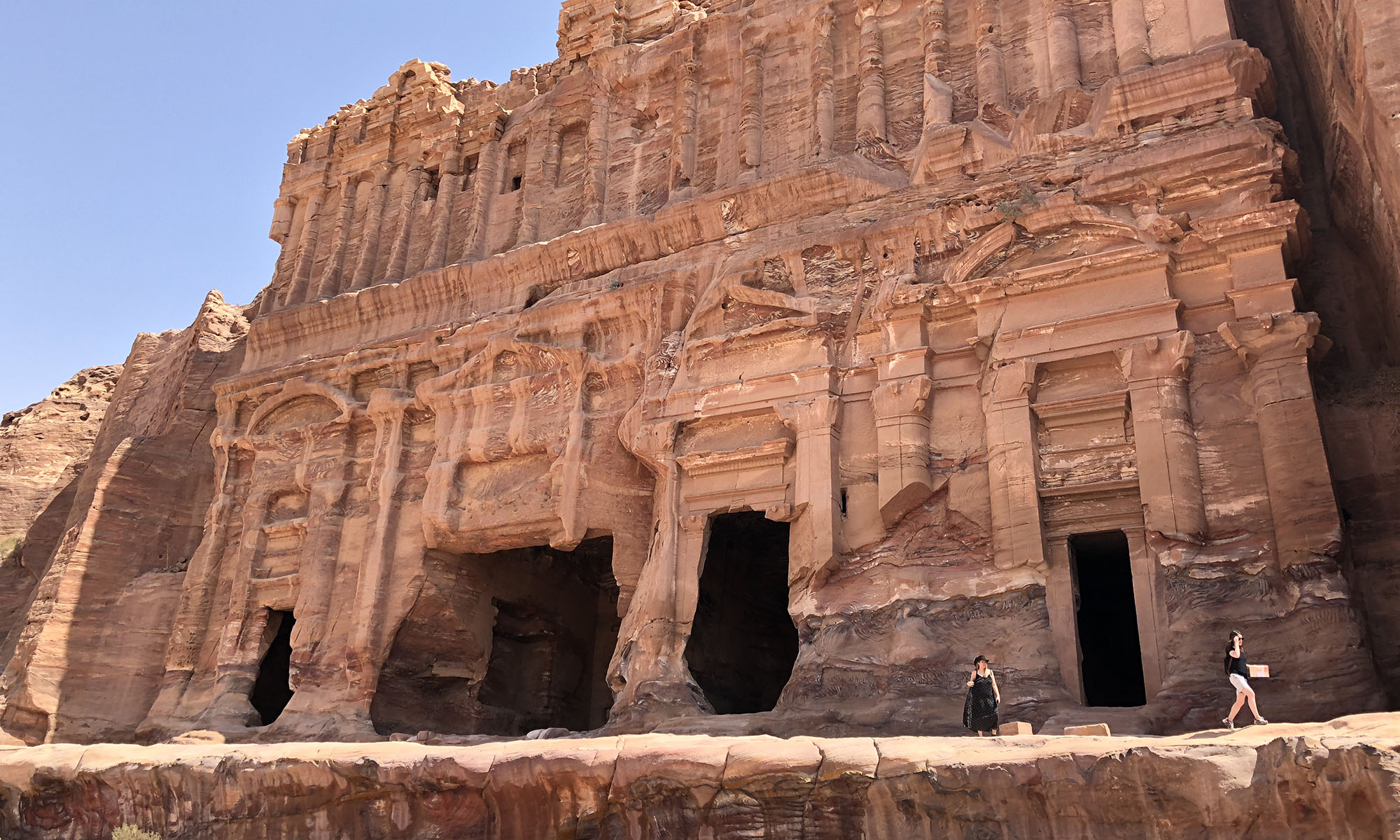 Jordanië Petra Koningsgraven