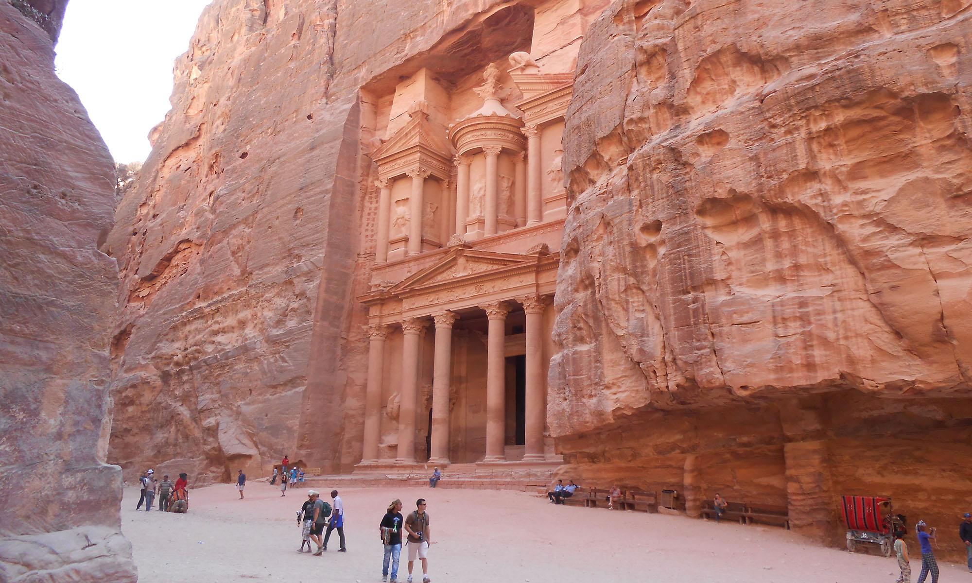 Jordanië Petra Schatkamer