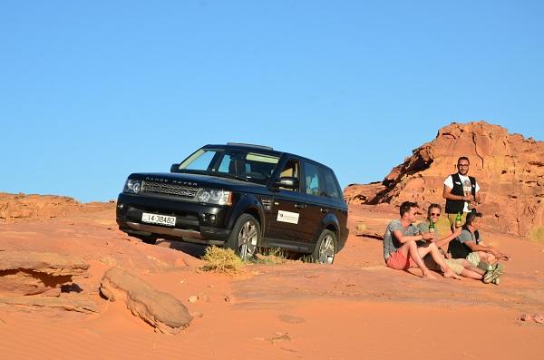 Relaxen in de Wadi Rum, Jordanië
