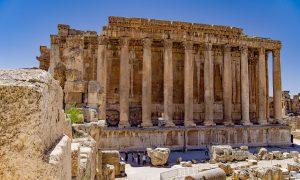 Libanon Baalbek Tempel Bacchus