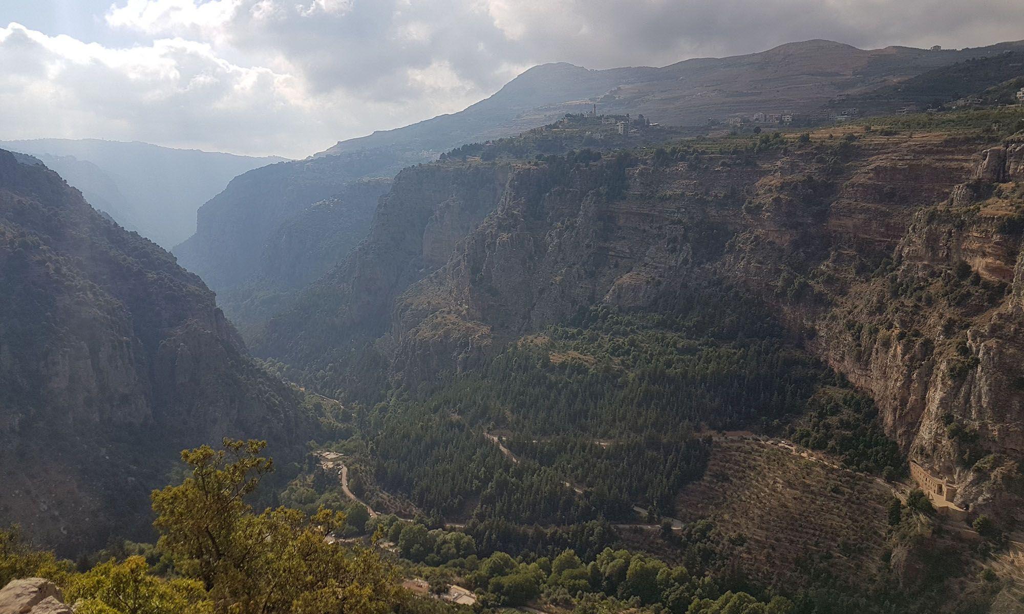 Libanon Qadisha Vallei