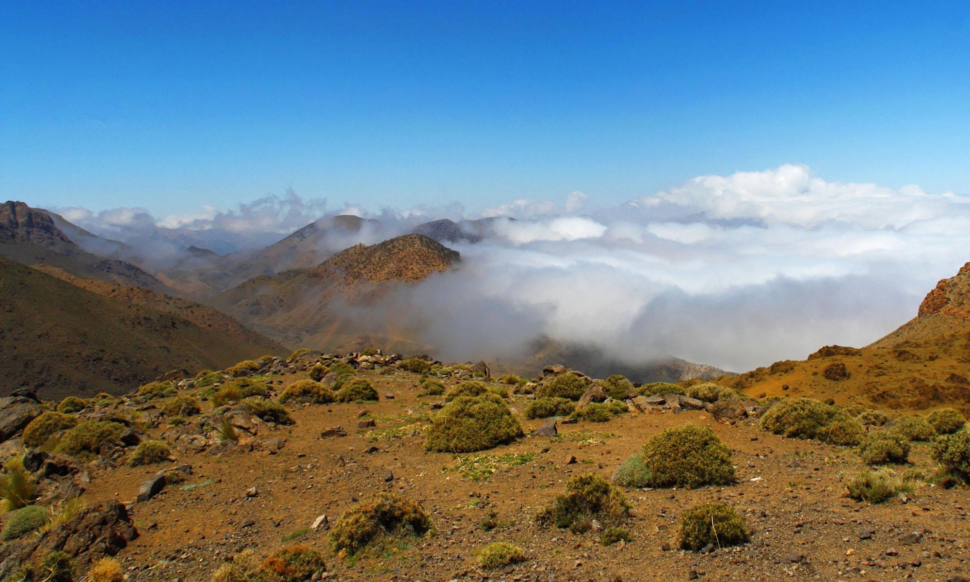 Marokko Atlas Wolken