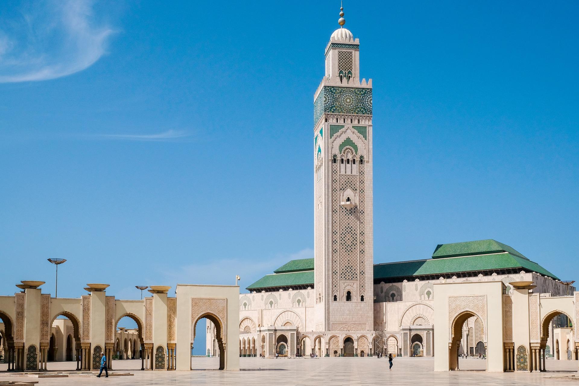 De Hassan II Moskee in Casablanca
