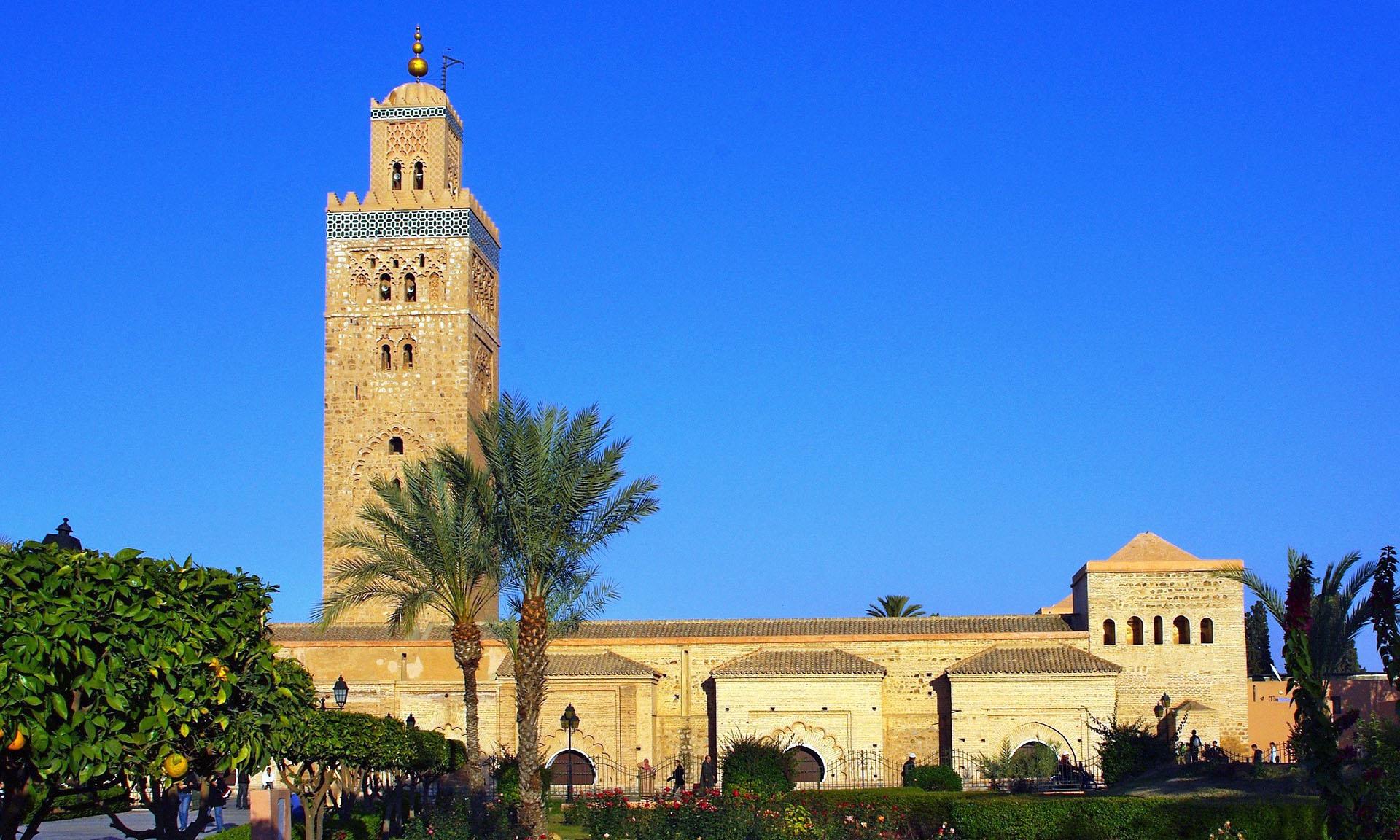 Marokko Marrakech Koutoubia Moskee