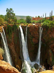 Marokko Ouzoud Watervallen