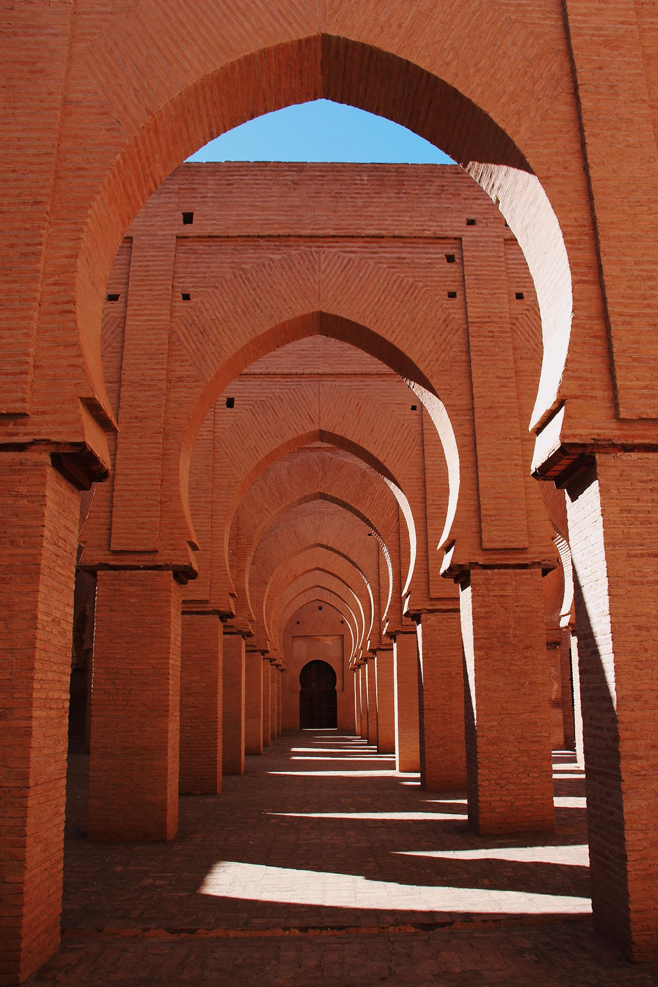 Marokko Tinmel Moskee