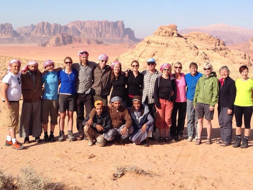 Wandelreis door Jordanië