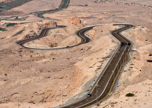 Al Ain Weg Naar Jabal Hafeet