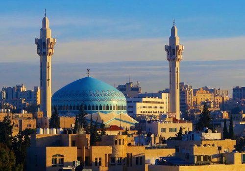 Amman Blauwe Moskee