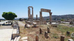 Amman Citadel Hill ruïnes