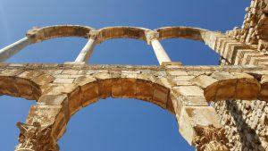 Anjar Citadel ruïnes
