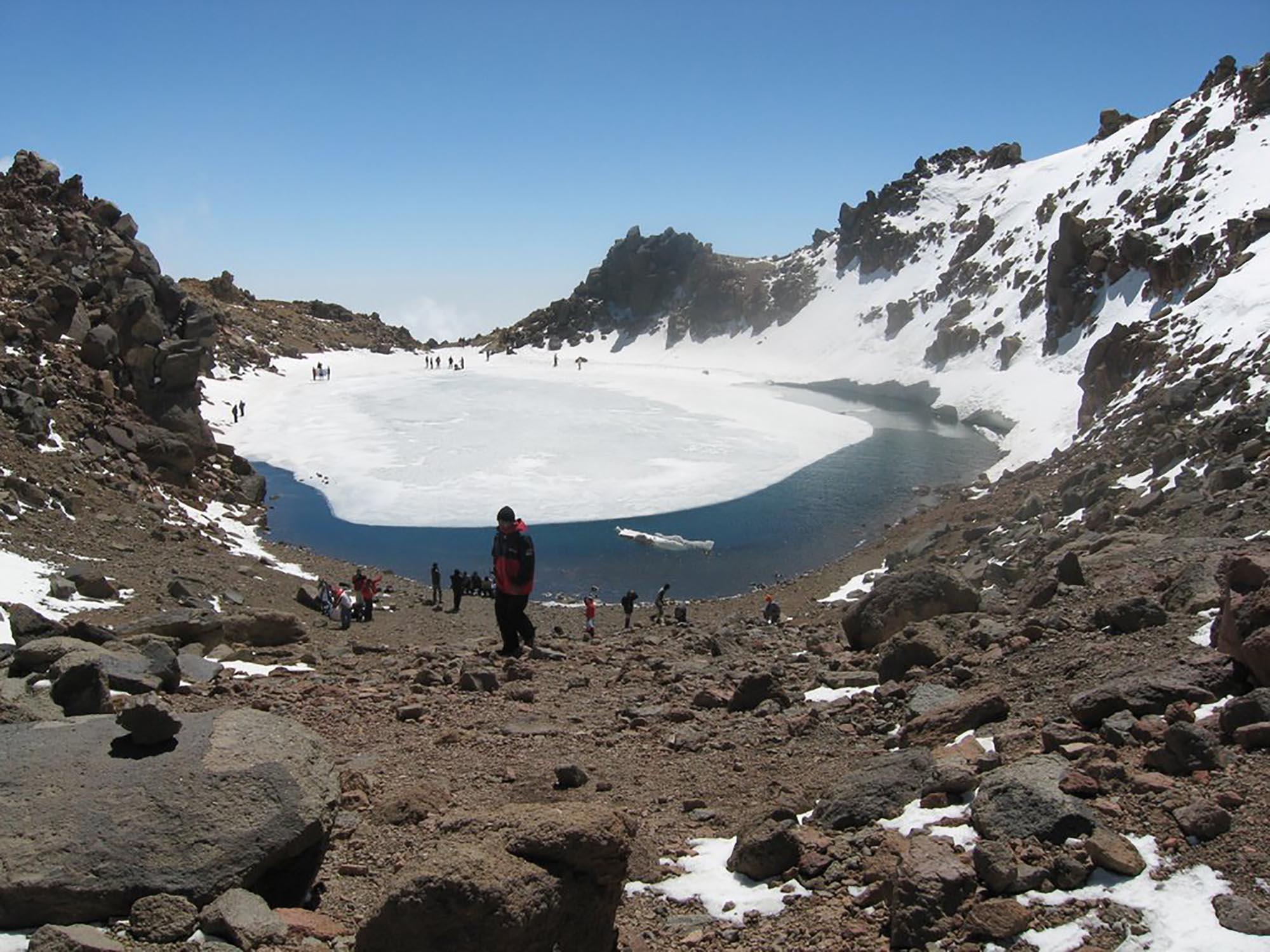 Iran Kuh E Sabalan Kratermeer