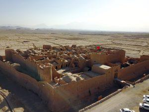 Iran Sar Yazd Woestijnkasteel