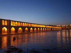 Isfahan Si O Se Pol Brug Avond