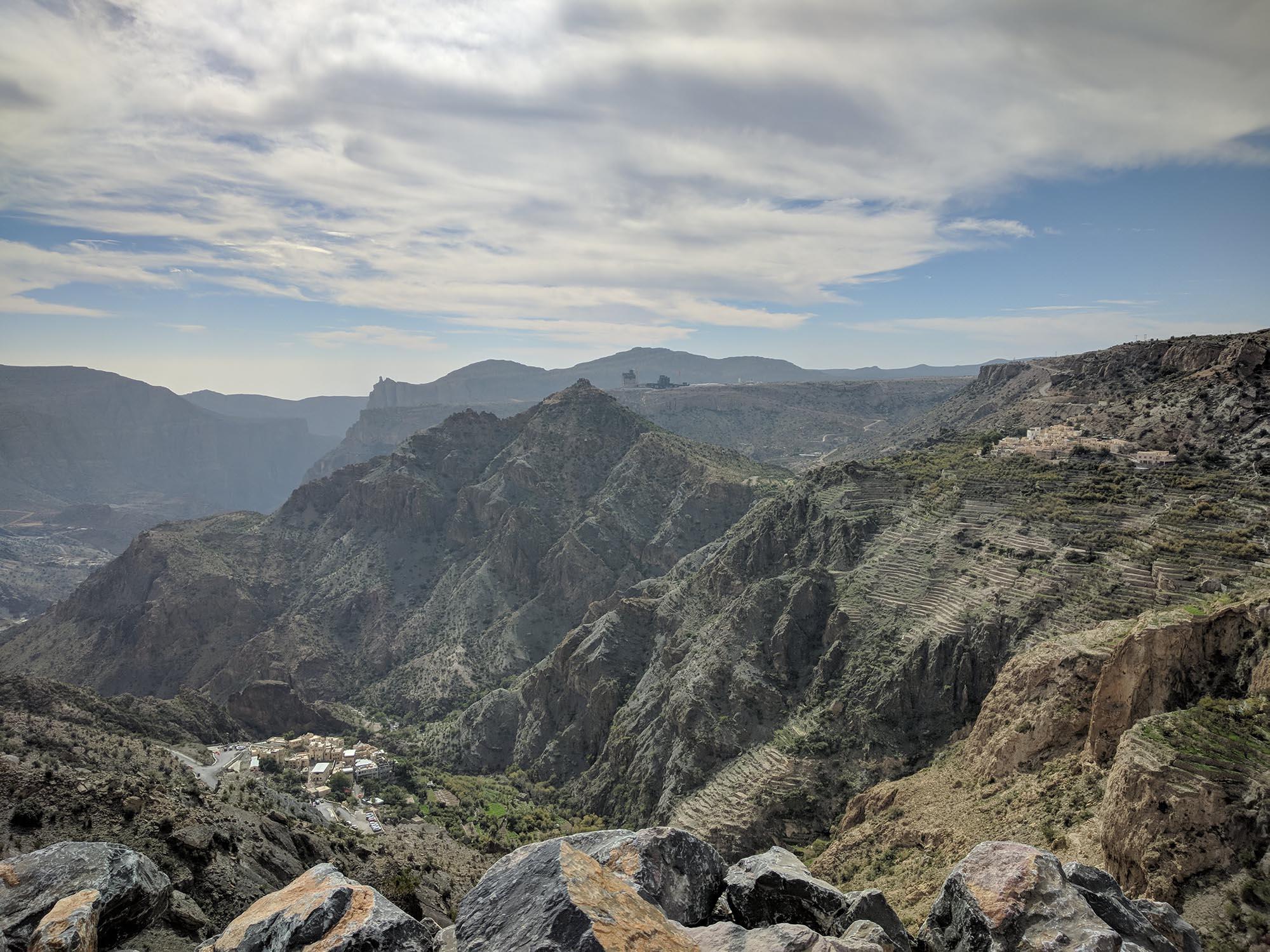 Jebel Akhdar Uitzicht