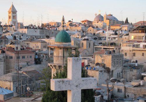 Jeruzalem Uitzicht Over Stad