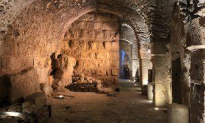 Jordanië Ajloun Castle Binnen