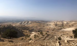 Jordanië Ajloun Naar El Himma