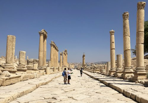 Jordanië Jerash Zuilenweg