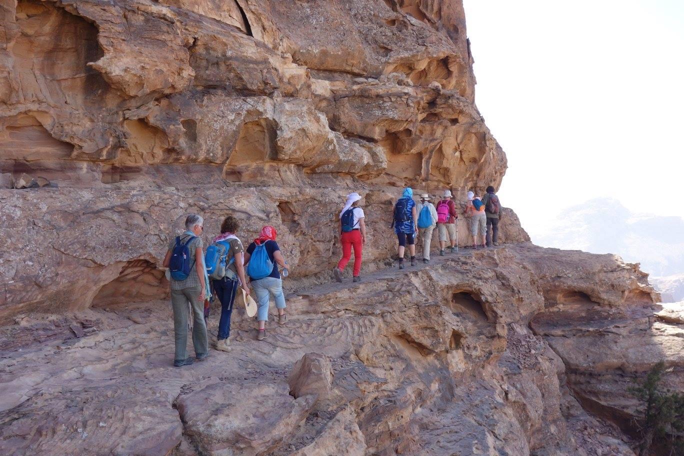 Jordanië backdoorhike naar Petra