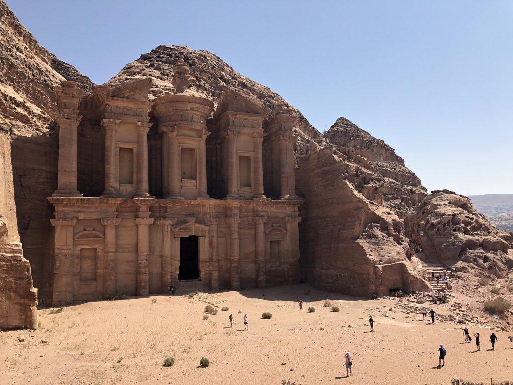 Jordanië, Petra The Monastery