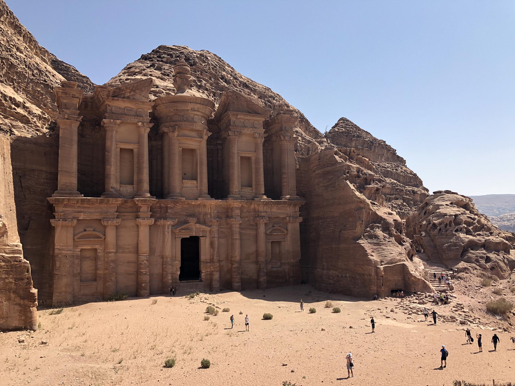 Jordanië Petra The Monastry