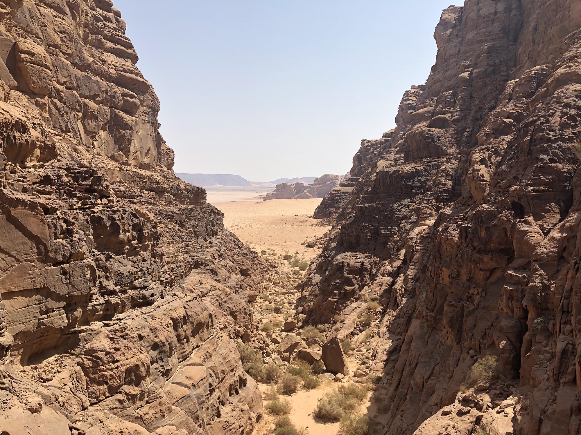 Jordanië Petra Uitzicht