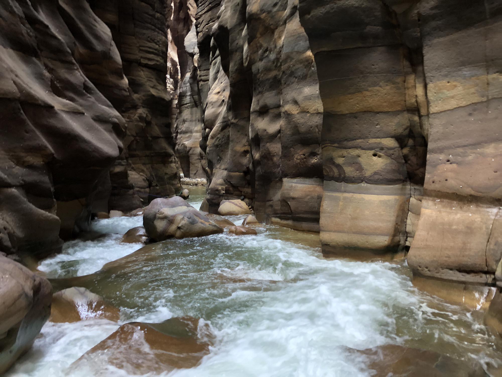 Jordanië Wadi Mujib Siq Trail