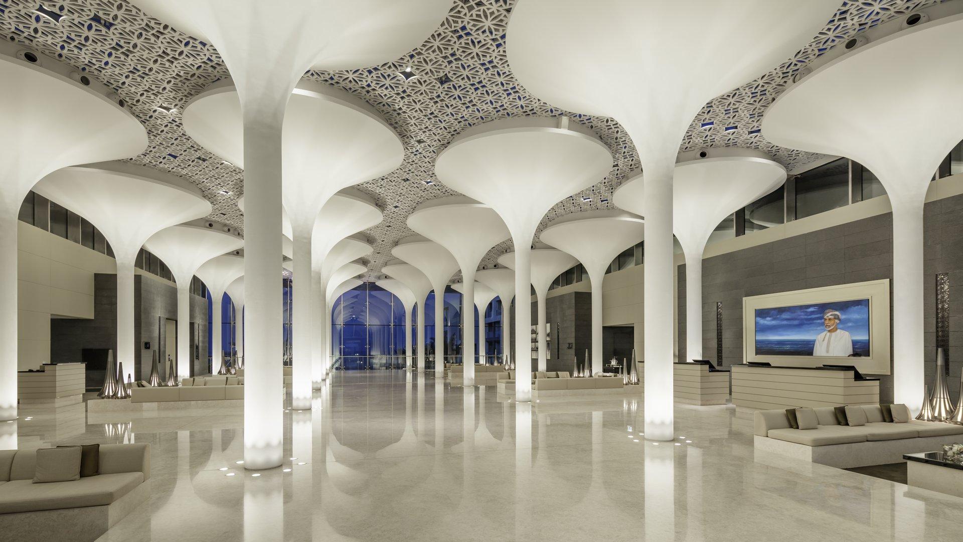 Nieuw luxe hotel in Oman