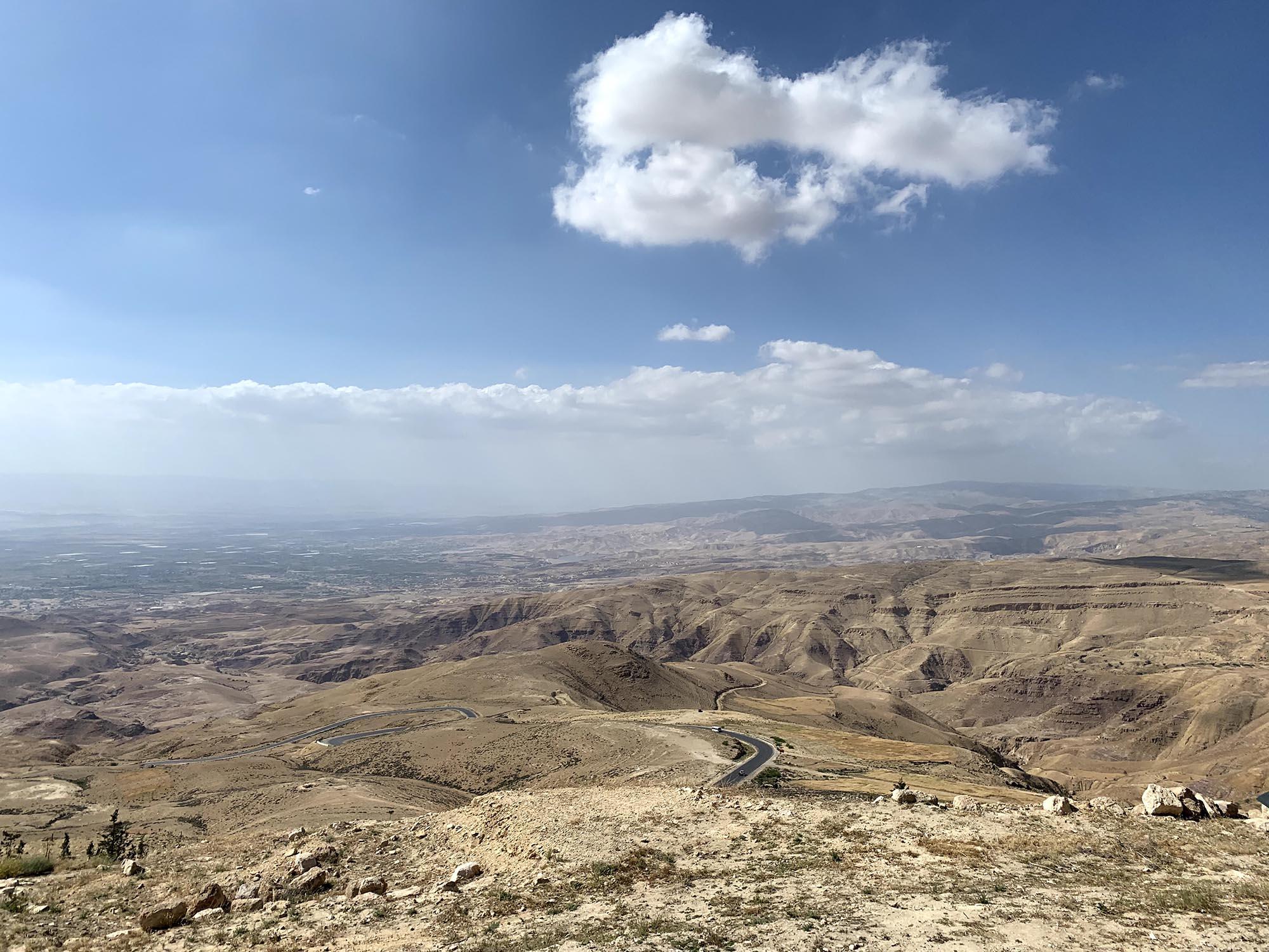 Mount Nebo Uitzicht