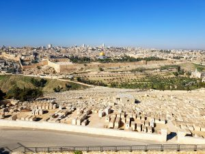 Mount Of Olives Uitzicht
