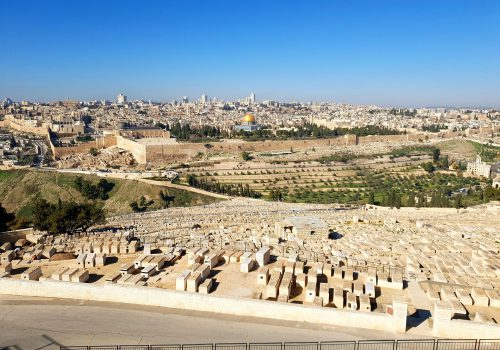Mount Of Olives Uitzicht