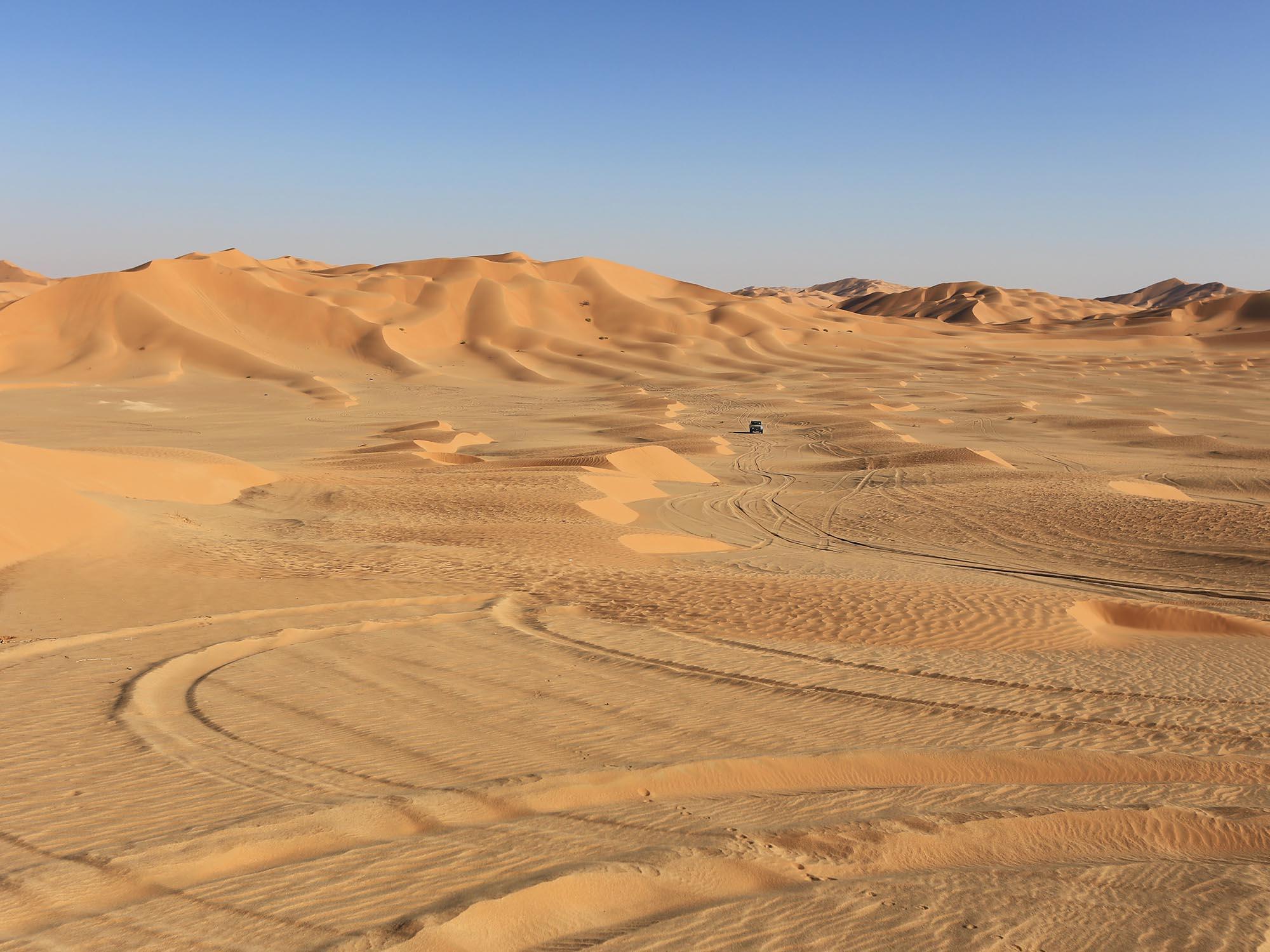 Woestijnexpeditie The Empty Quarter