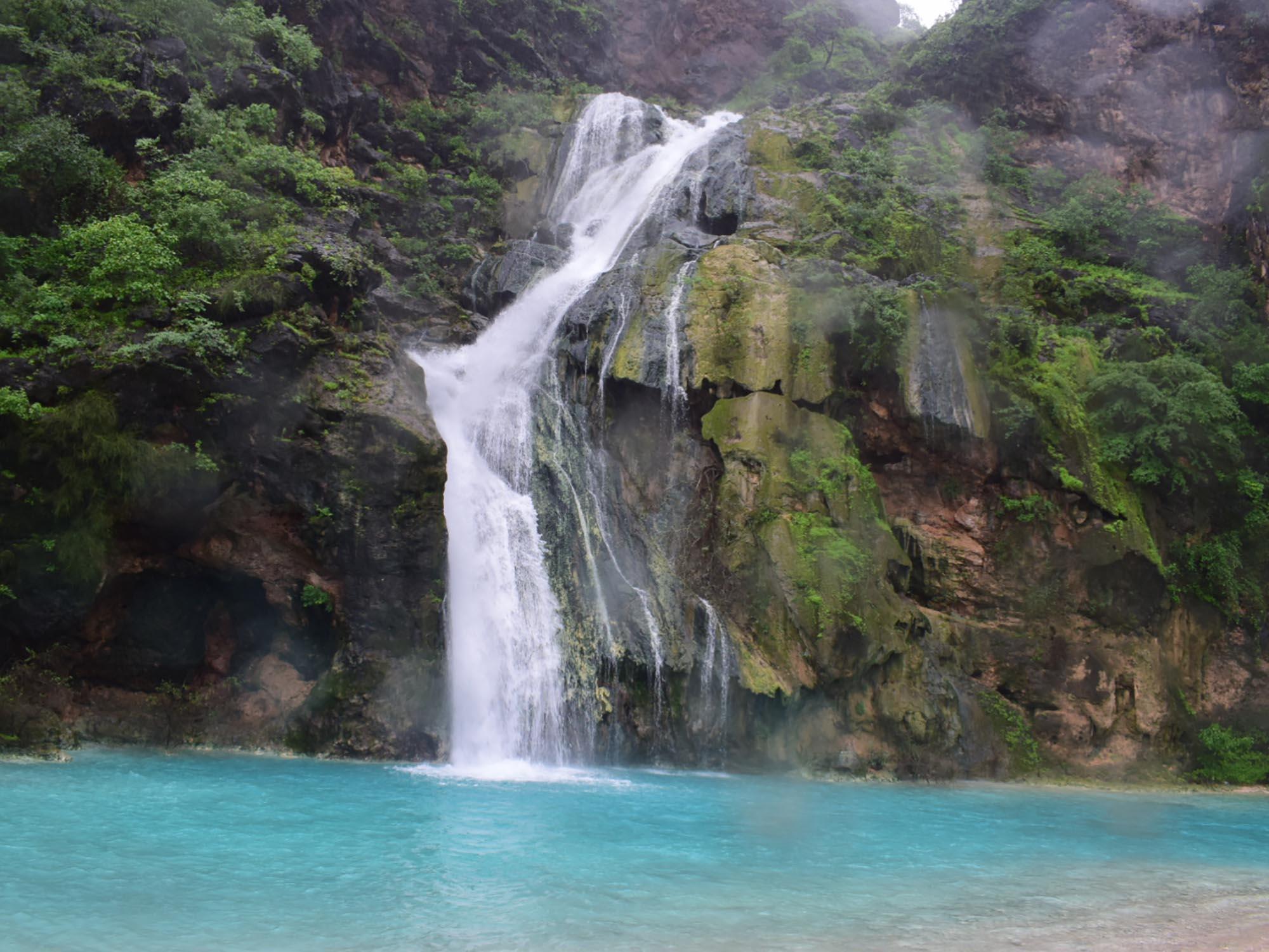 Oman Salalah Ayn Khor Waterval