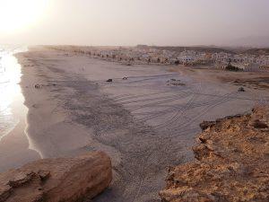 Oman Taqah Strand