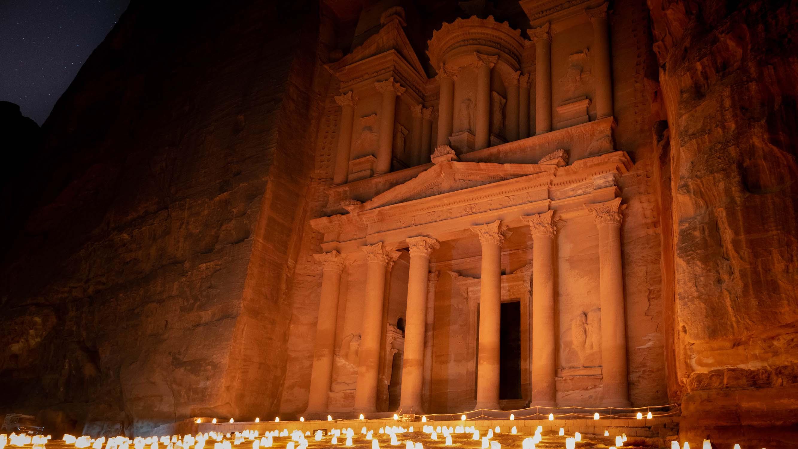 Huwelijksreis Jordanië