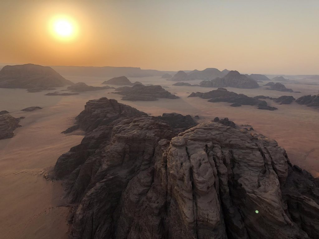 Wadi Rum Ballonvaart Zonsopkomst